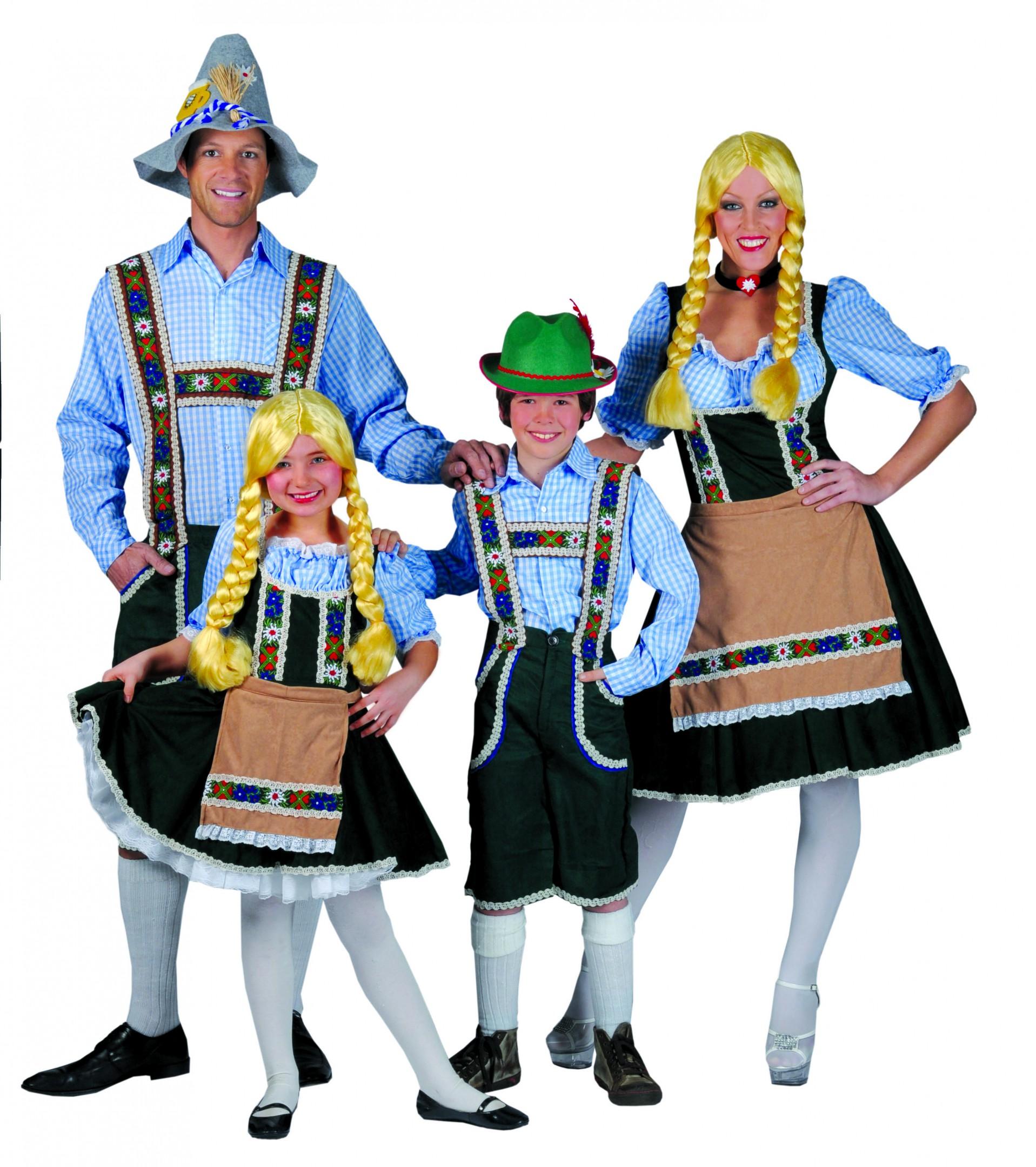 Tiroler Heidi met schort-0