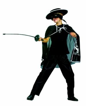 Zorro cape + broek-0