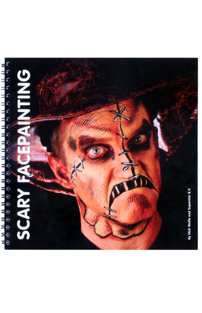Schminkboek Scary Facepainting (Nick Wolfe) -0