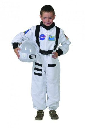 Astronaut overall wit-0