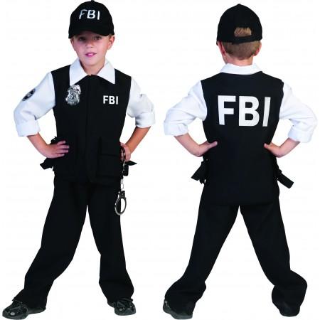 FBI agent politiejongen-0