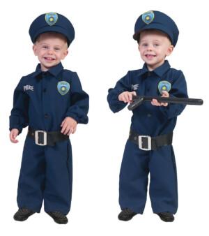 Politie baby blauw-0