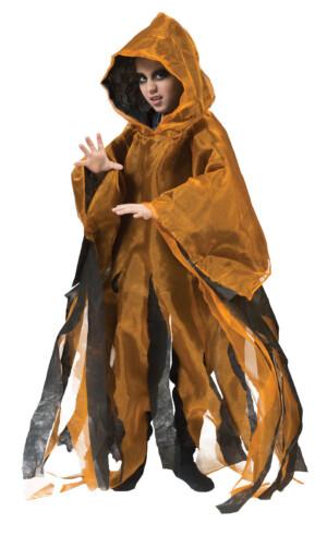 Kinder spokencape oranje-0
