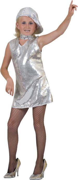 Disco tuniek zilver-0
