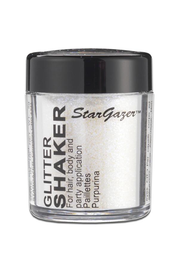 Glitter Shaker White Stargazer-0