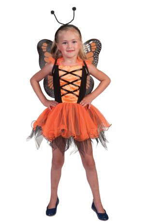 Vlinder oranje-0