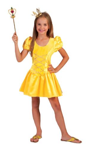 Prinses geel kort-0