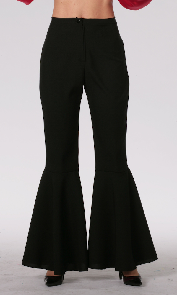 Hippie broek zwart-0