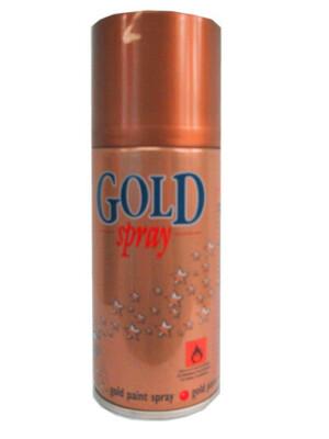 Decor spray metal goud non-flamable mt. 150ml-0