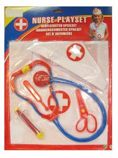 Verpleegsters set op kaart 5 delig-0