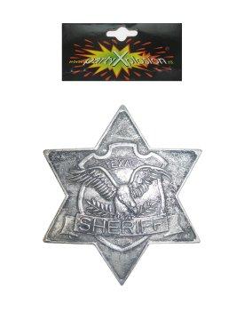 Sherrifster metaal + pin-0