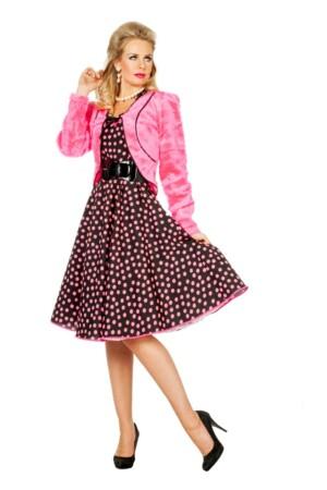 Bolero borg pink-0