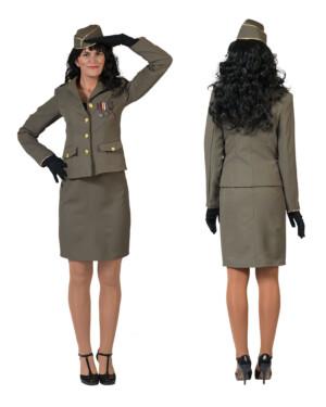 Militaire vrouw, soldate-0