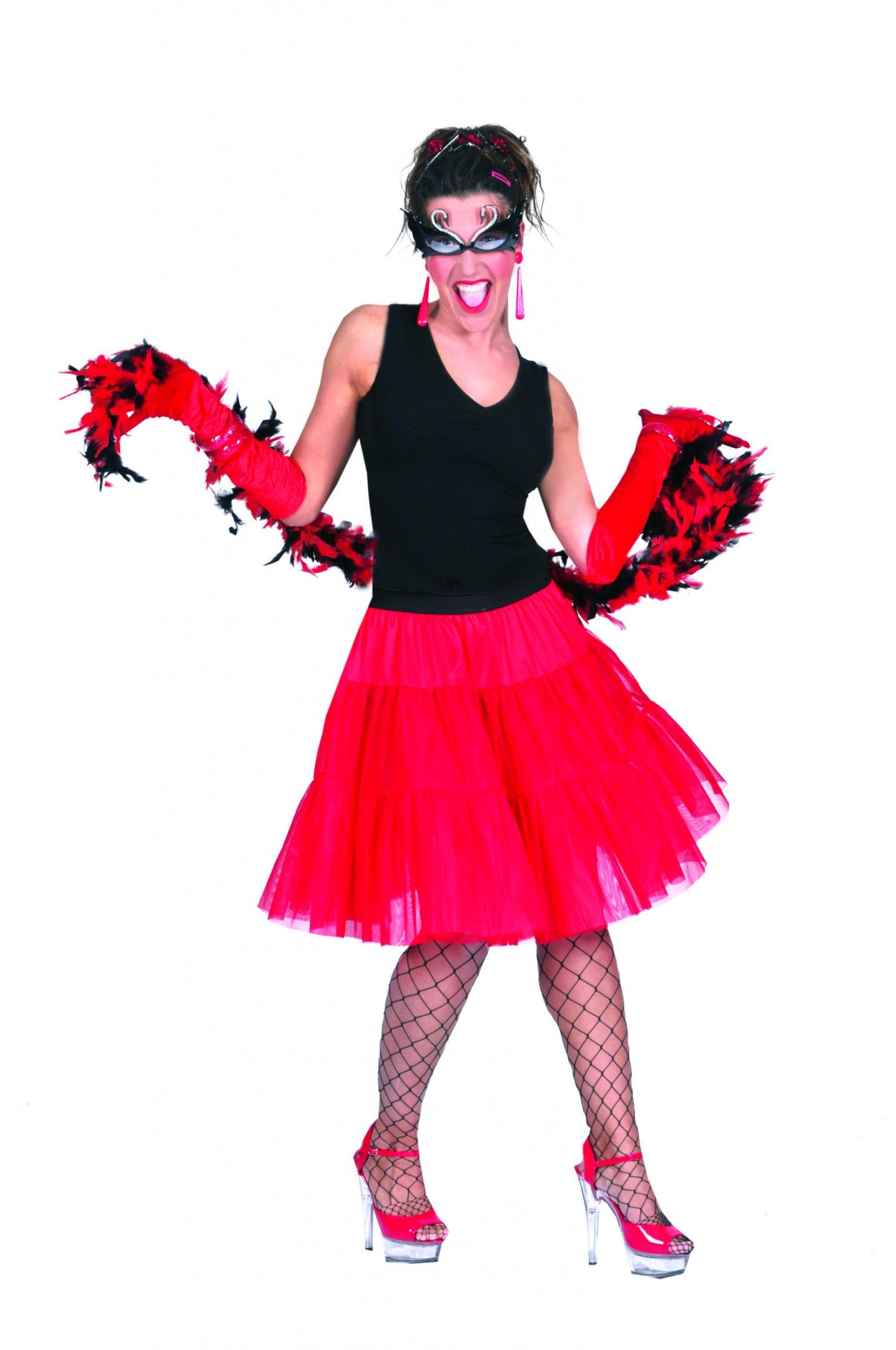 Petticoat rood-0