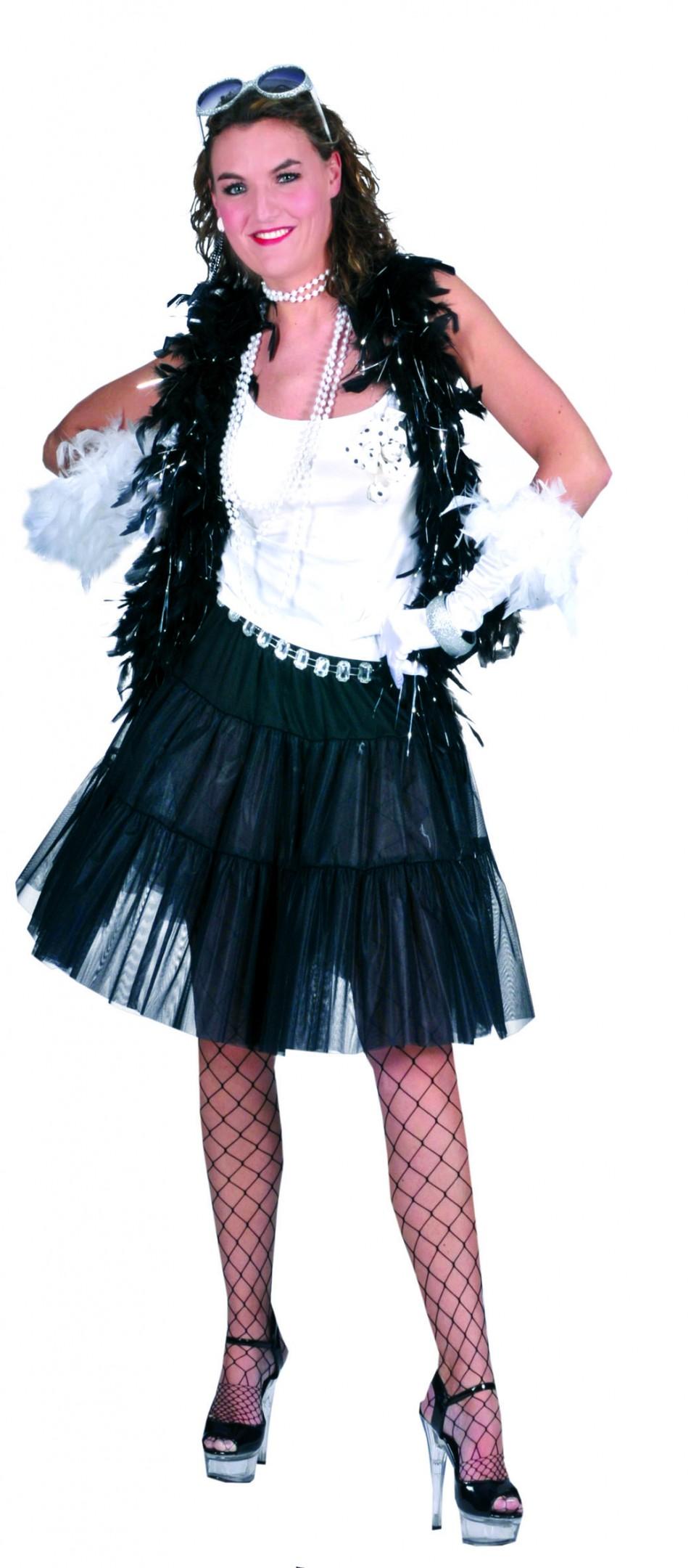 Petticoat zwart-0