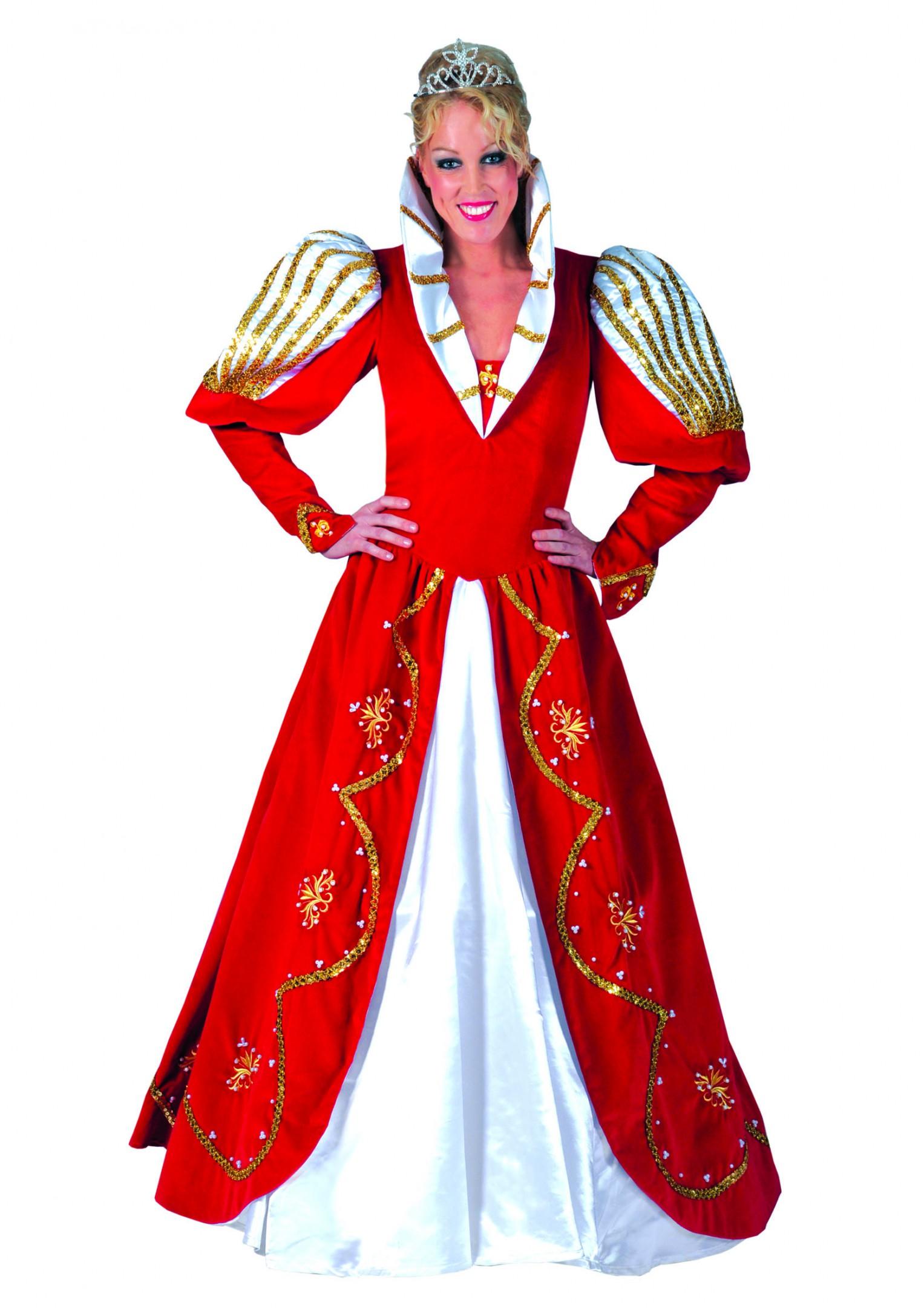 Prinses Carnaval Victoria rood-0