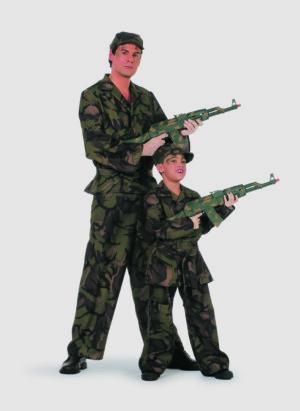 Camouflage groen-0