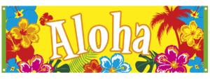 Banner Aloha hawai-0