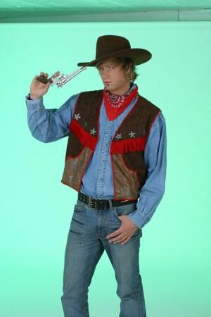 Cowboyvest wasleder-0