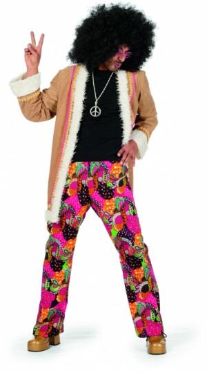 Hippie met lange jas-0