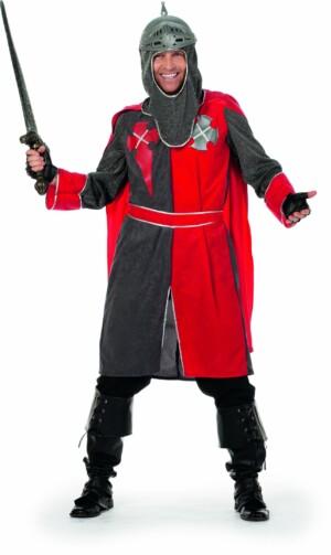 Ridder Arthur rood/grijs-0