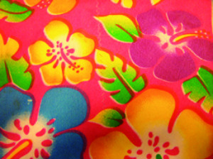 Hawaishirt oranje-0