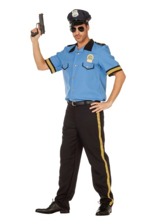 Politie blue-0