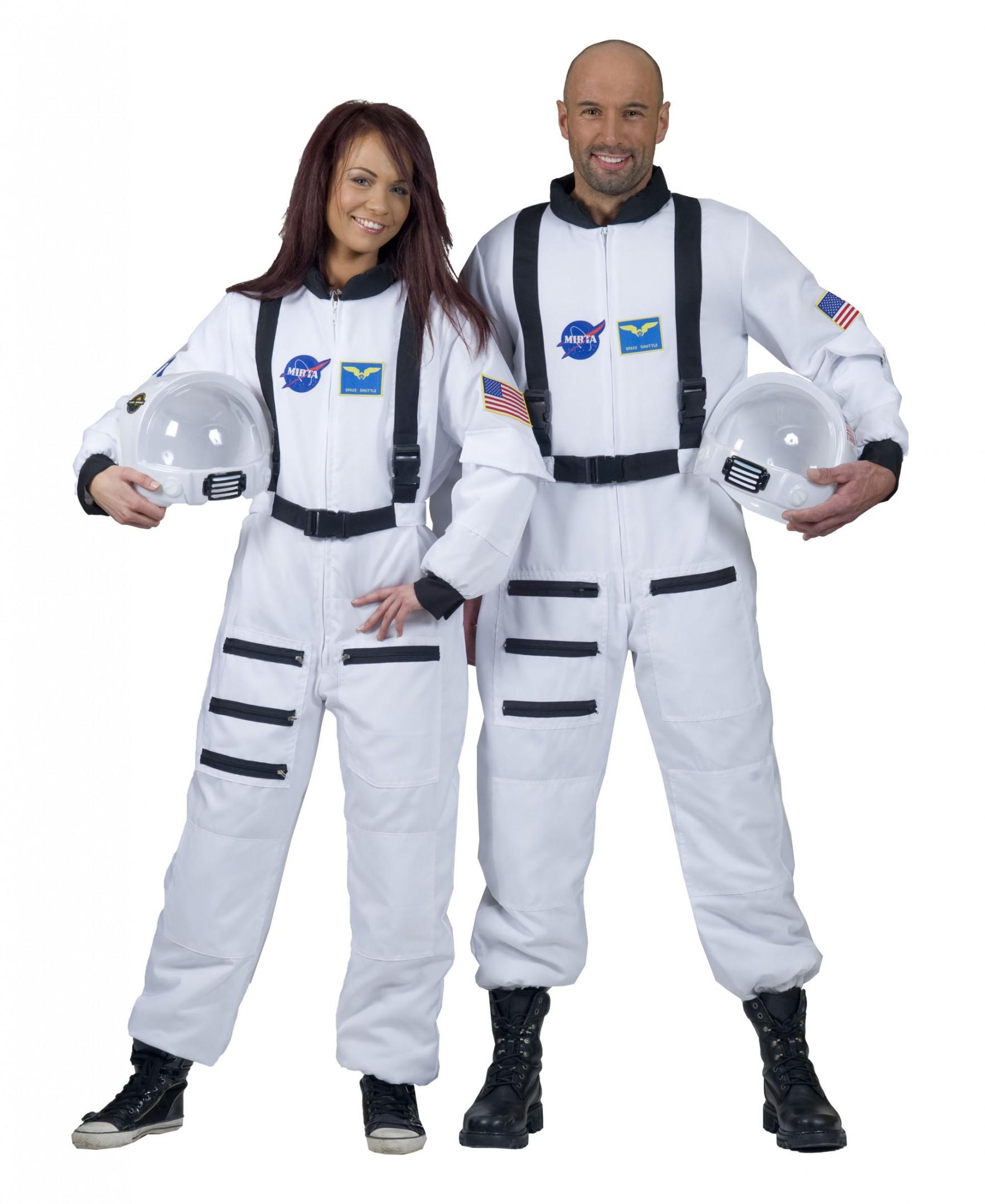 Astronaut jumsuit wit-0