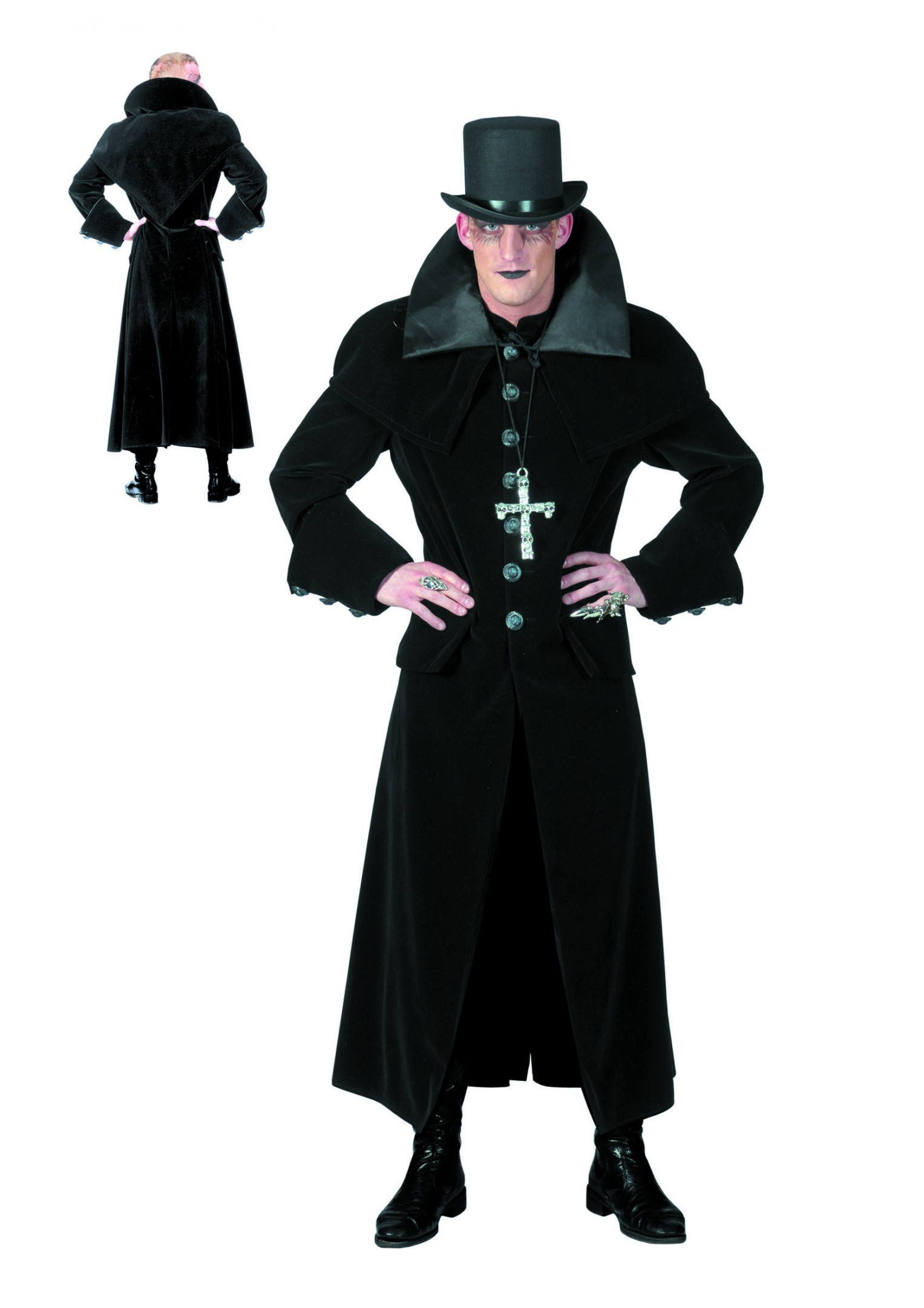 Gothic jas luxe-0