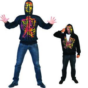 Sweater skelet geest-0