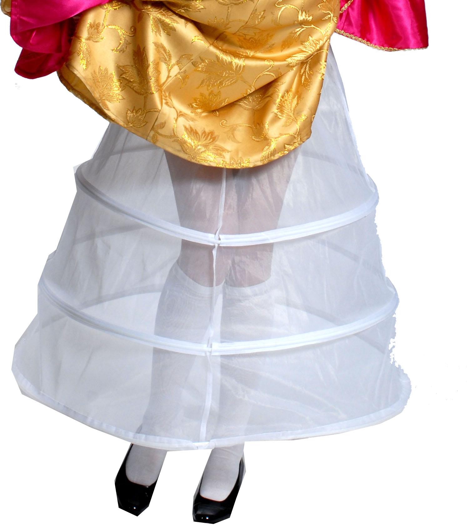 Petticoat wit 100 cm-0
