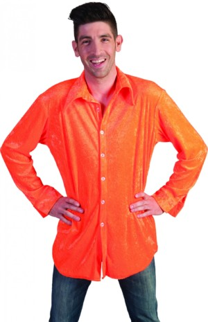 Shirt Neon oranje-0
