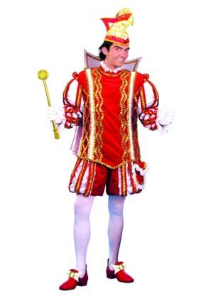 Prins Carnaval Hugo rood/wit-0