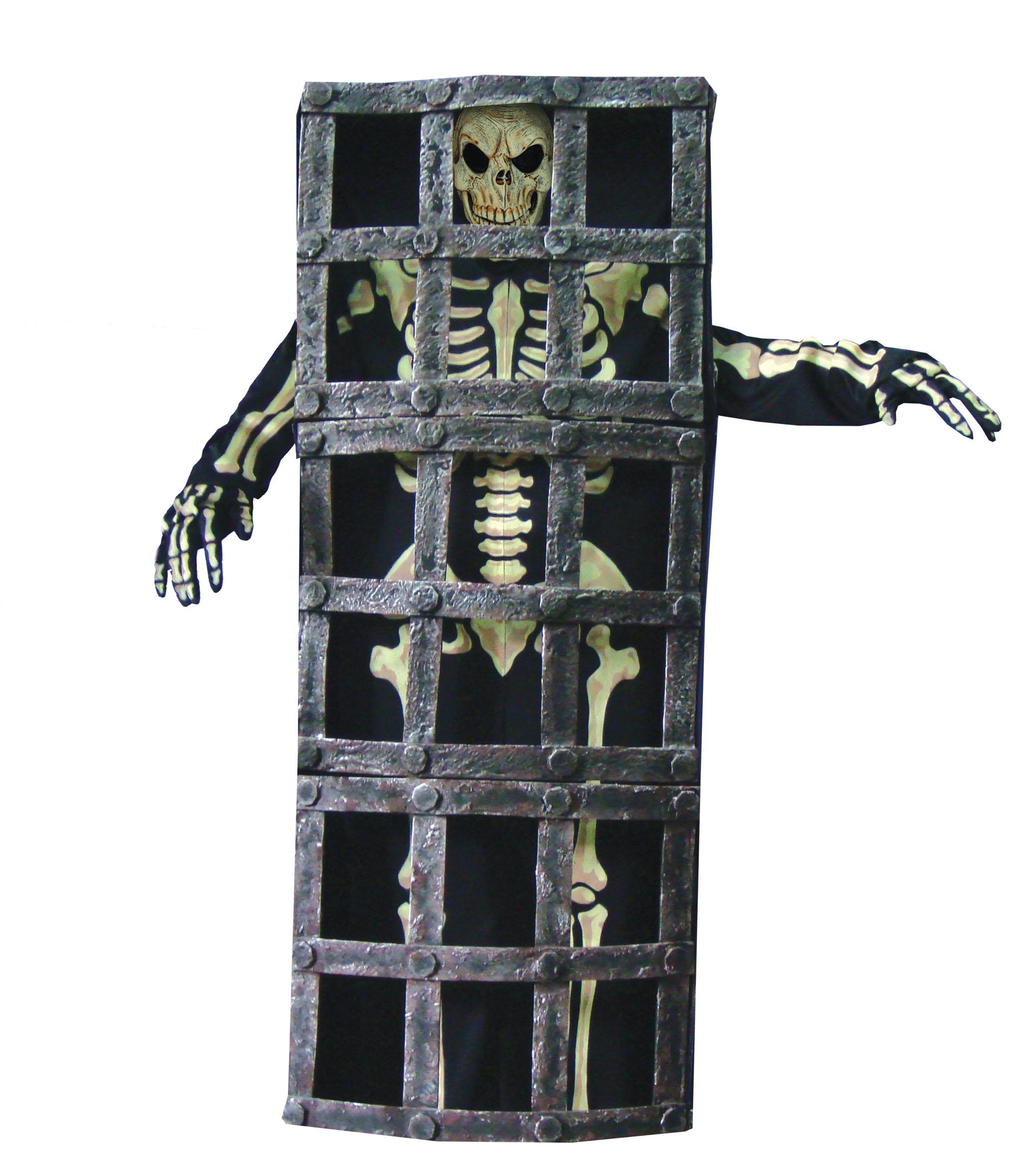 Skelet in kooi-0