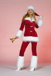 Muts kerstvrouw de luxe-0