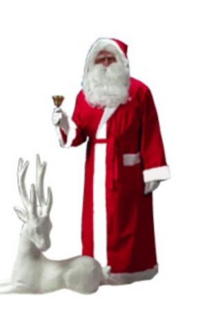 Kerstmanmantel + riem-0