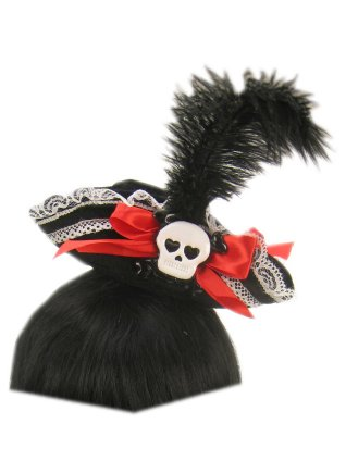 Piratenhoedje op hoofdband-0