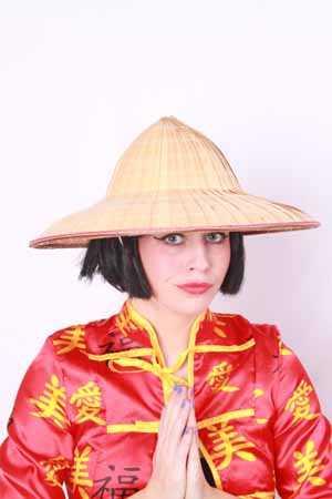 Strohoed chinese geisha-0