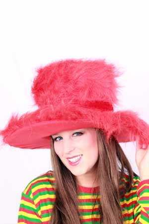 Lady pimphat rood-0