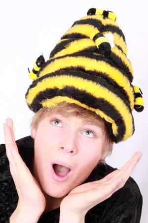 Bijenkorf hoed plush mt. one size-0