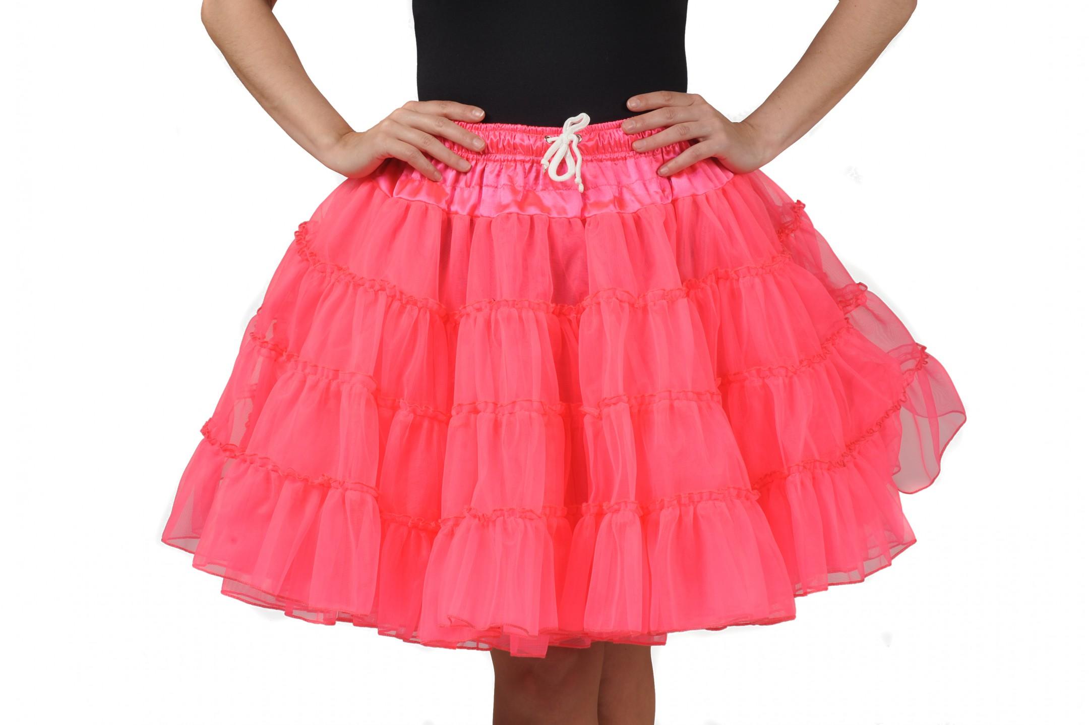 Petticoat deluxe 3 lagen pink-0
