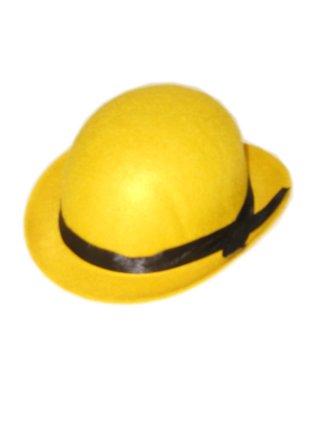Mini bolhoed geel-0