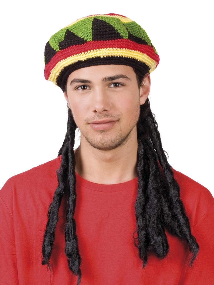Bob Marley rastamuts met dreadlocks-0