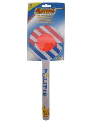 Stopbord politie + licht-0