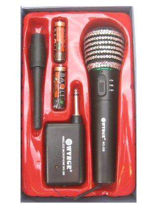 Microfoon strass bling bling wireless werkt echt-0