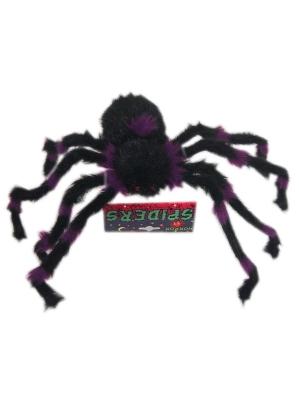 Grote harige spin neon 3 assortie (Halloween)-0
