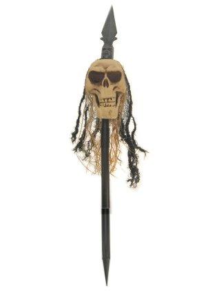 Speer met doodshoofd lachend (Halloween)-0