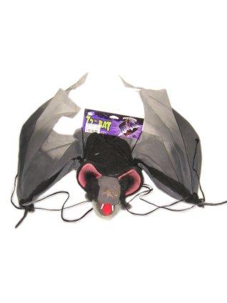 Hangende vleermuis deco alleen afhalen (Halloween)-0