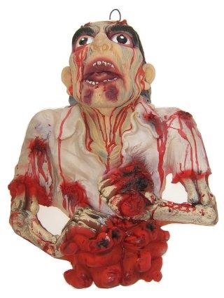 Halloween hangdeco hoofd + borst + darmen mt. 52×42-0