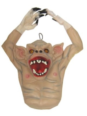 Halloween hangdeco griezel armen in lucht mt. 57x42 cm-0
